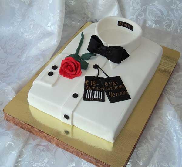 Торт на день рождения парню 18 летие